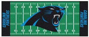 Fan Mats Carolina Panthers Football Runner