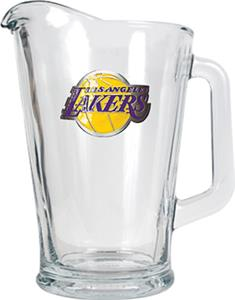 NBA Los Angeles Lakers 1/2 Gallon Glass Pitcher