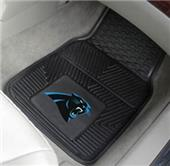 Fan Mats Carolina Panthers Vinyl Car Mats (set)