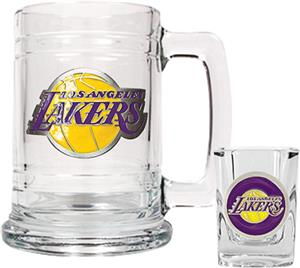 NBA Los Angeles Lakers Boilermaker Gift Set