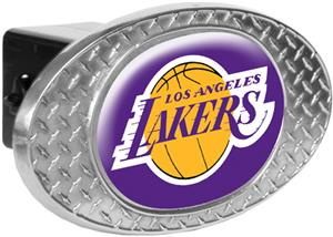 NBA Los Angeles Lakers Diamond Plate Hitch Cover