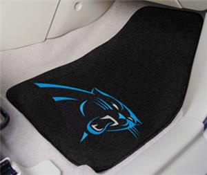 Fan Mats Carolina Panthers Carpet Car Mats