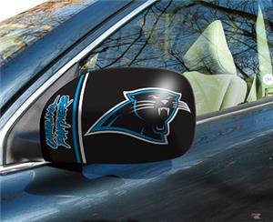 Fan Mats NFL Carolina Panthers Small Mirror Cover