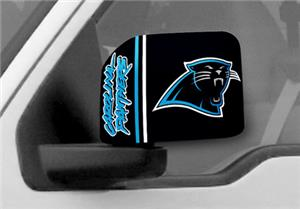 Fan Mats NFL Carolina Panthers Large Mirror Cover
