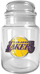 NBA Los Angeles Lakers Glass Candy Jar
