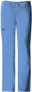 Cherokee Women's Drawstring Cargo Scrub Pants
