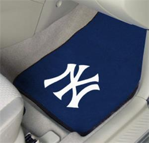 Fan Mats MLB New York Yankees Carpet Car Mats