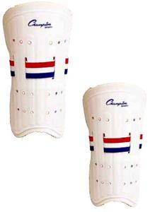 Champion plastic fitting soccer shinguards (PAIRS)