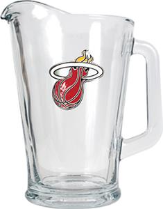 NBA Miami Heat 1/2 Gallon Glass Pitcher