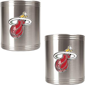 NBA Miami Heat Stainless Steel Can Holders