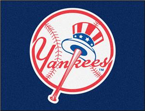 Fan Mats MLB Yankees Alternate Logo All-Star Mat