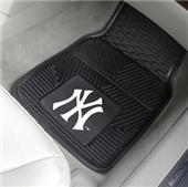 Fan Mats MLB New York Yankees Vinyl Car Mats (set)
