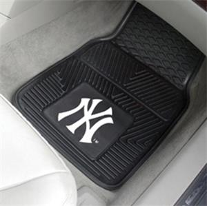Fan Mats MLB New York Yankees Vinyl Car Mats