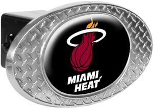 NBA Miami Heat Diamond Plate Hitch Cover