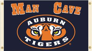Collegiate Auburn Tigers Man Cave 3&#39; x 5&#39; Flag