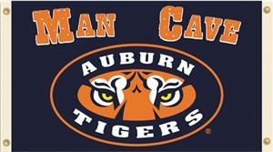 Collegiate Auburn Tigers Man Cave 3' x 5' Flag