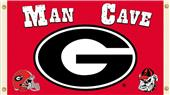 Collegiate Georgia Bulldogs Man Cave 3' x 5' Flag