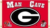 Collegiate Georgia Bulldogs Man Cave 3' x 5' Flag