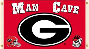 Collegiate Georgia Bulldogs Man Cave 3&#39; x 5&#39; Flag