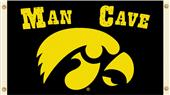 Collegiate Iowa Hawkeyes Man Cave 3' x 5' Flag