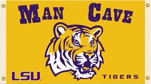 Collegiate Louisiana State Man Cave 3' x 5' Flag