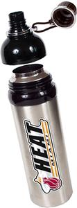 NBA Miami Heat Water Bottle w/Black Top