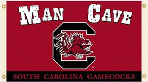 Collegiate South Carolina Man Cave 3' x 5' Flag