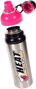NBA Miami Heat Water Bottle w/Pink Top