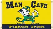 Collegiate Notre Dame Man Cave 3' x 5' Flag