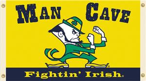 Collegiate Notre Dame Man Cave 3&#39; x 5&#39; Flag
