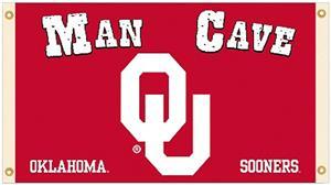 Collegiate Oklahoma Sooners Man Cave 3' x 5' Flag