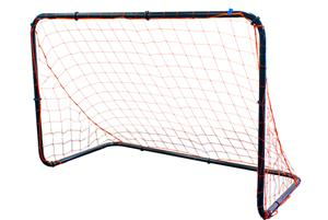 Park &amp; Sun Black Shadow Steel Soccer Goal