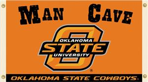 Collegiate Oklahoma State Man Cave 3&#39; x 5&#39; Flag