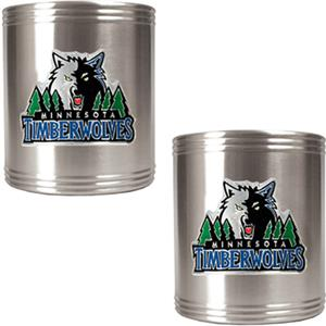 NBA Timberwolves Stainless Steel Can Holders