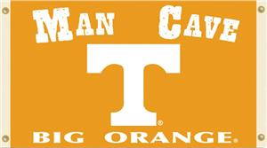 Collegiate Tennessee Vols Man Cave 3' x 5' Flag
