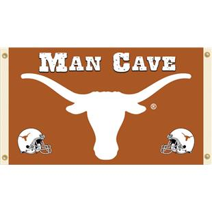 Collegiate Texas Longhorns Man Cave 3' x 5' Flag