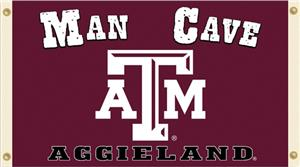 Collegiate Texas A&M Aggies Man Cave 3' x 5' Flag