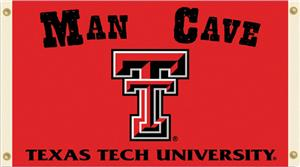 Collegiate Texas Tech Man Cave 3' x 5' Flag