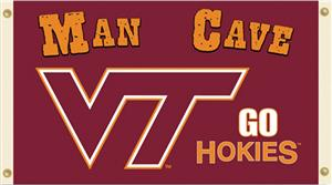 Collegiate Virginia Tech Man Cave 3' x 5' Flag