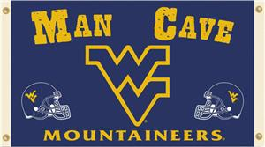Collegiate West Virginia Man Cave 3' x 5' Flag
