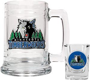 NBA Minnesota Timberwolves Boilermaker Gift Set