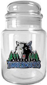 NBA Minnesota Timberwolves Glass Candy Jar