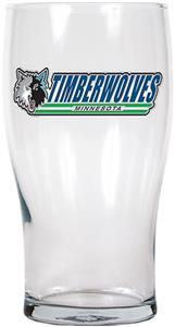 NBA Minnesota Timberwolves 20oz Pub Glass
