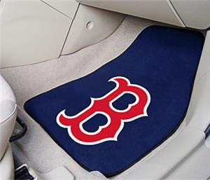 Fan Mats MLB Boston Red Sox Carpet Car Mats (set)