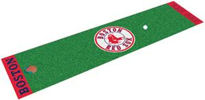 Fan Mats MLB Boston Red Sox Putting Green Mat