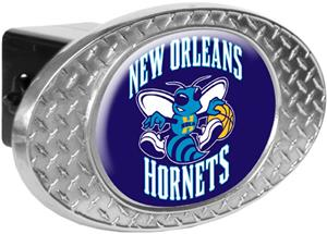 NBA Hornets Diamond Plate Hitch Cover