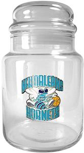 NBA New Orleans Hornets Glass Candy Jar