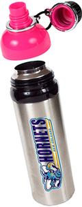 NBA New Orleans Hornets Water Bottle w/Pink Top