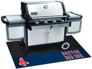 Fan Mats MLB Boston Red Sox Grill Mats