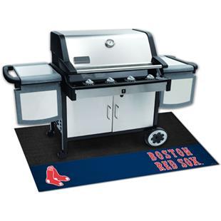 Fan Mats MLB Boston Red Sox Grill Mats